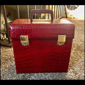 Vintage record album case from the 60's